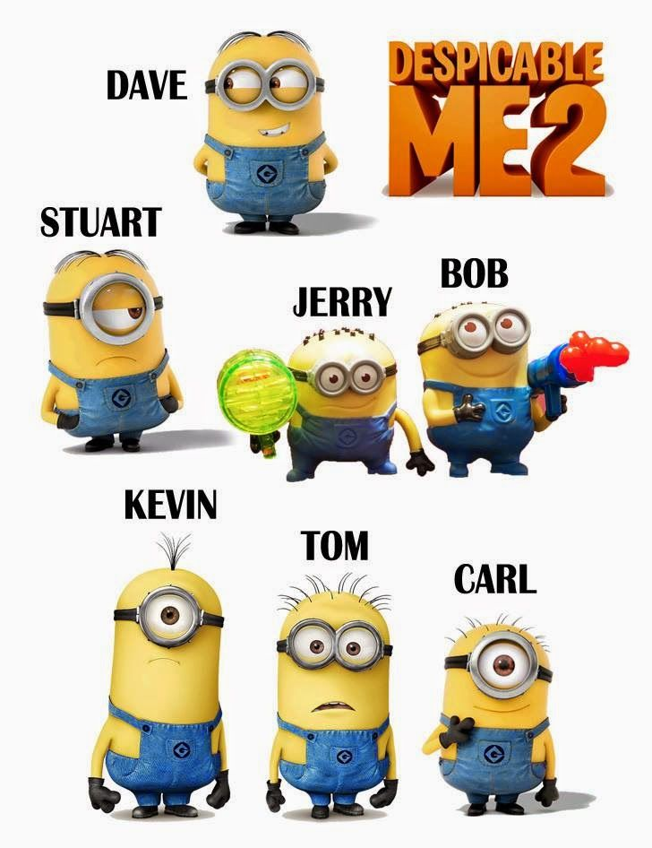 Minions Despicable Me 2 Characters 1