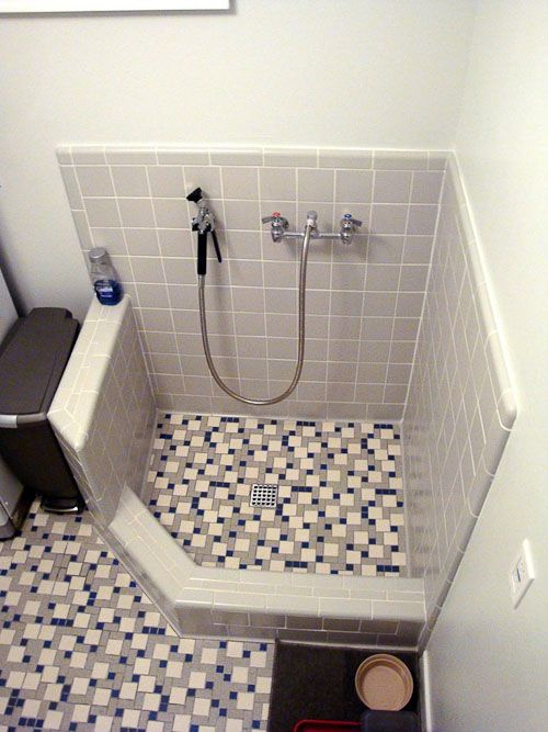 Natalie And Graham Add Retro Daltile And A Dog Shower To Their