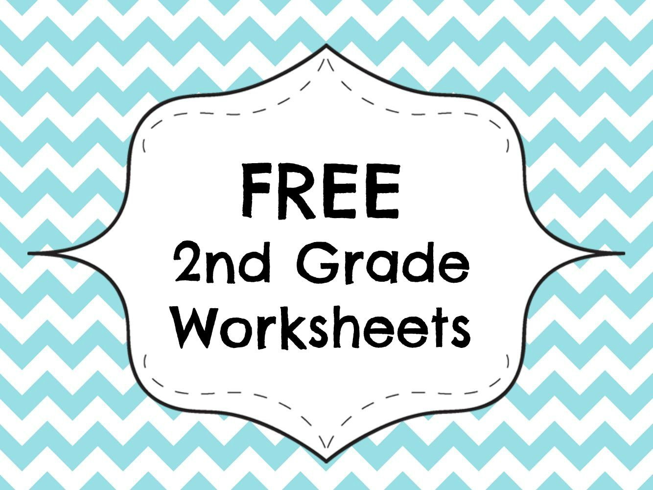 Free Second Grade Printable Worksheets