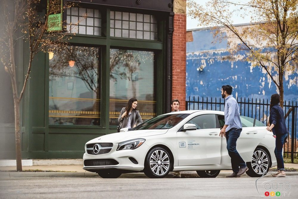 Mercedes Benz Cla And Gla Models From Car2go In Canada Car News