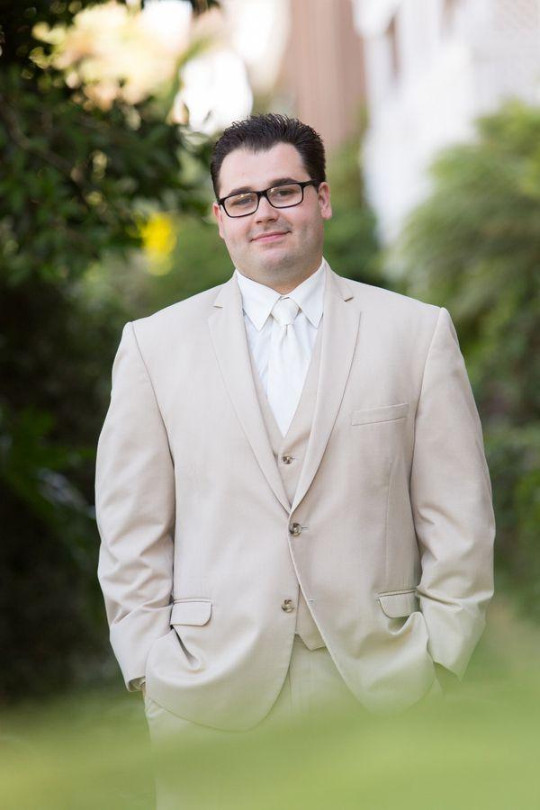 California Beach Wedding by Erica Mendenhall Photography » KnotsVilla-groom in white tie