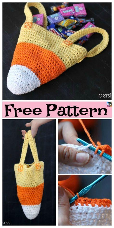 10 Crochet Halloween Decorations- Free Patterns Halloween - patterns for halloween decorations
