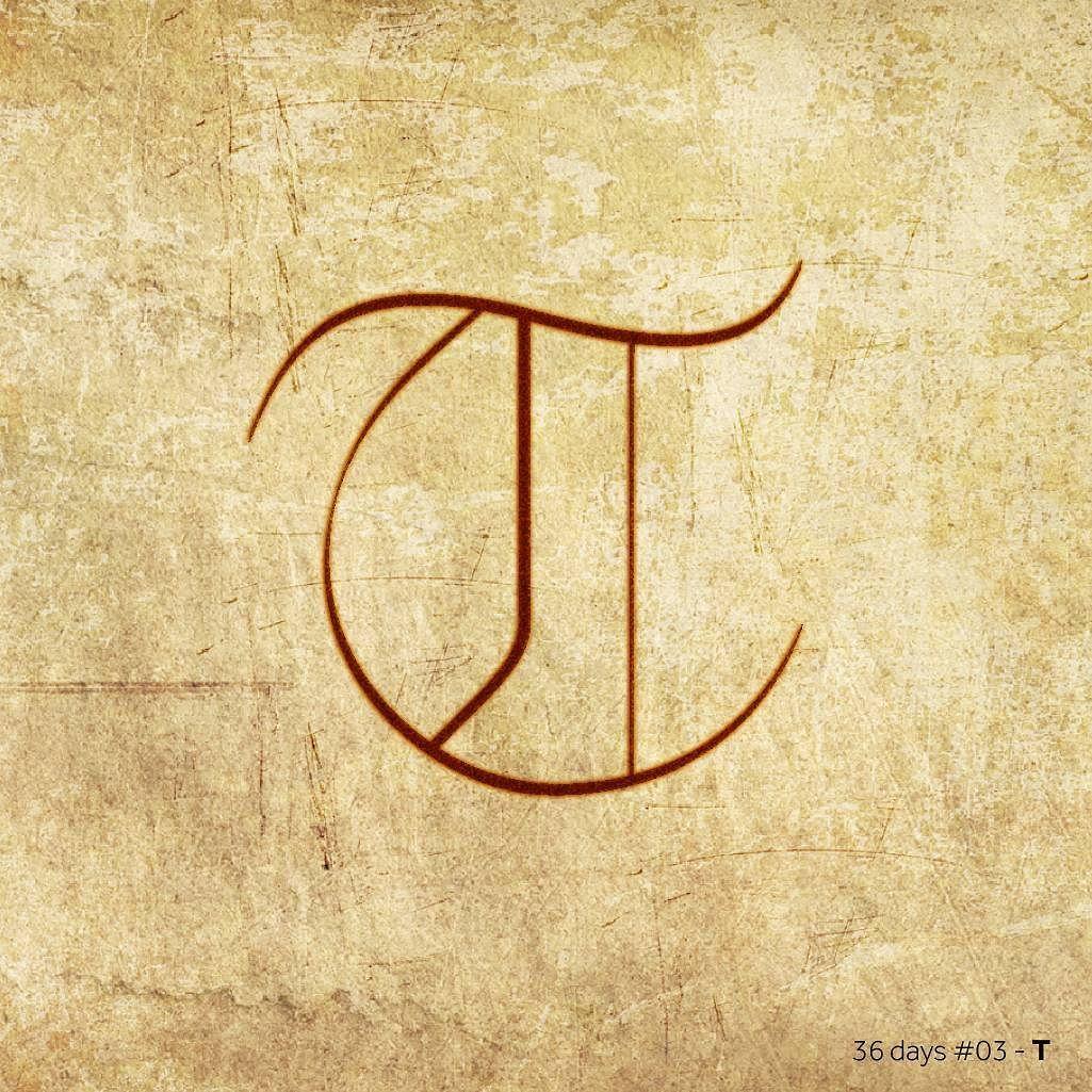 #thin #t #gothic #36daysoftype #36days_t #typography #design #tipografia #diseño by jonathansanchezpenya