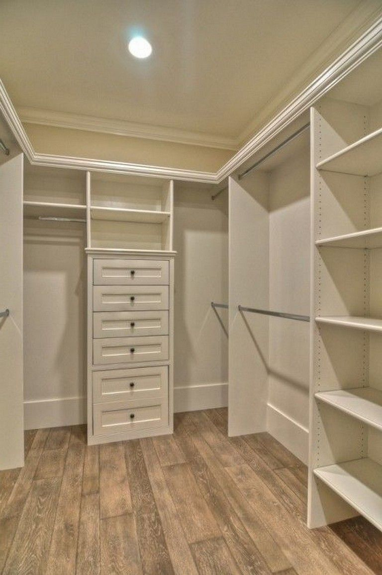 Ideas Of Functional And Practical Walk In Closet For Home: Best 30 Easy Ways To Make A Small Closets More Functional #homedecor #homedecorideas #home