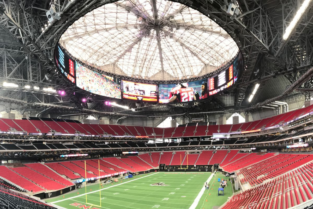 mercedes benz stadium minecraft. The Design For Mercedes-Benz Stadium Creates An Unparalleled Game-day Experience Fans And Iconic Architectural Landmark City. | Pinterest Mercedes Benz Minecraft 0