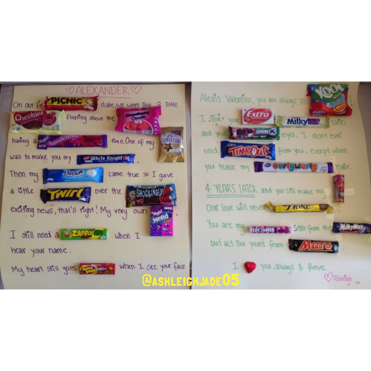 candy card for bf | DIY crafts | Pinterest