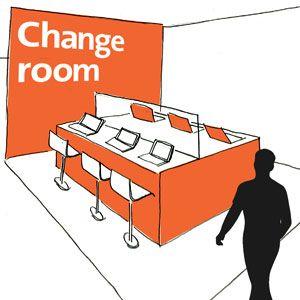 Avanade Change Room