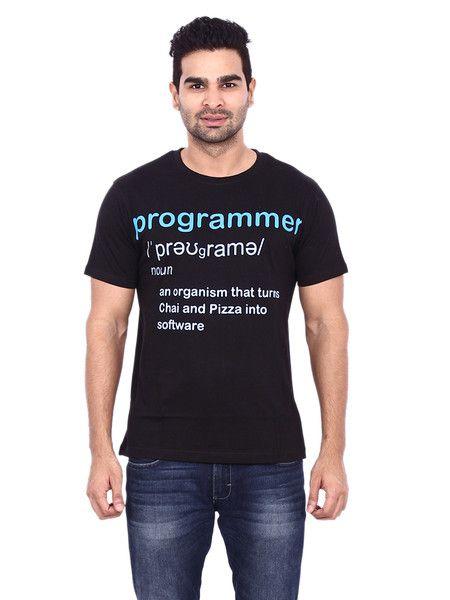 52371051bf7 Programmer Tshirt - Pagal Desi
