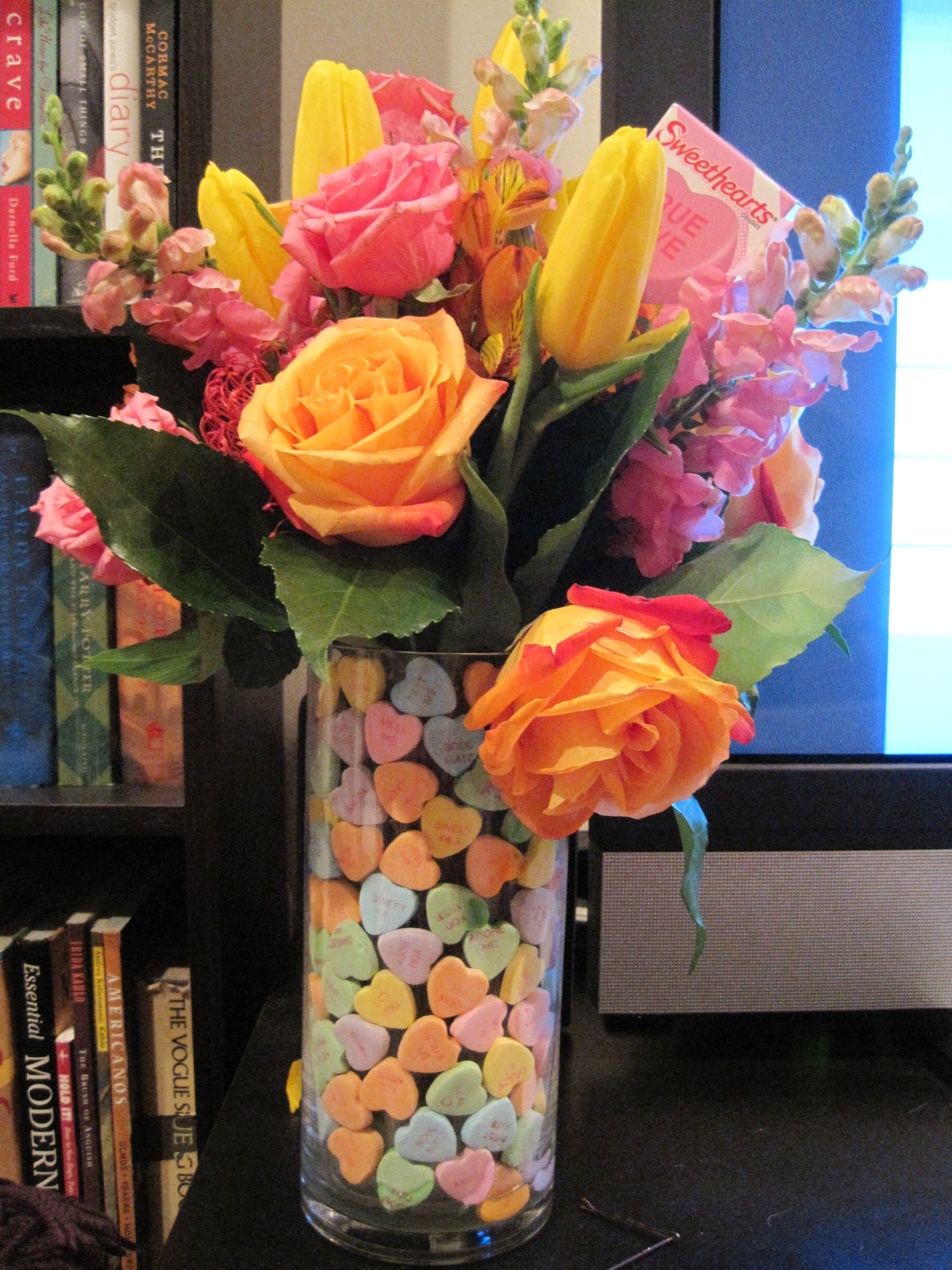 Valentine\'s Day bouquet by Dawn Huss | Flowers | Pinterest | Dawn