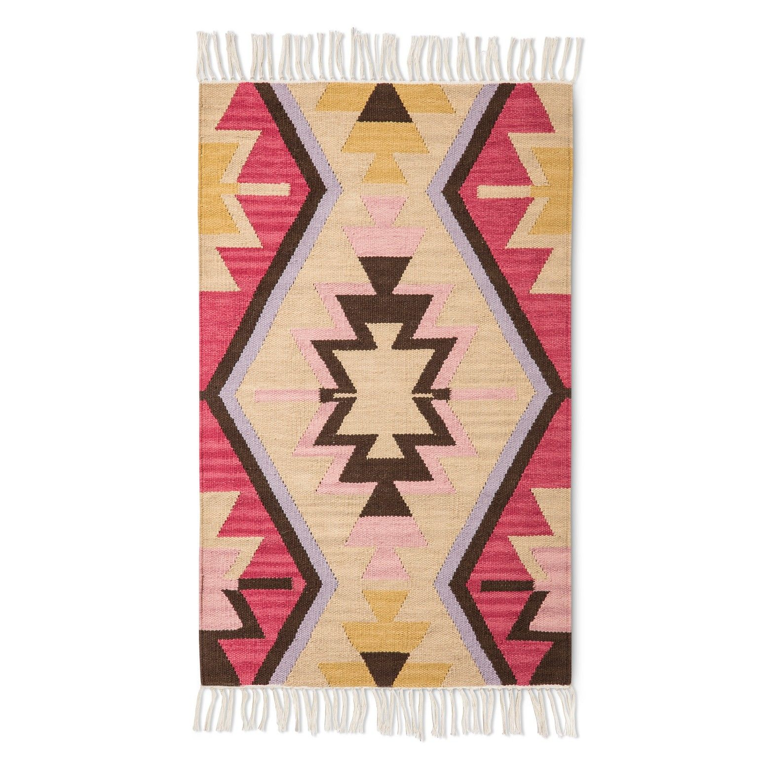 Beige Pink Classic Woven Accent Rug 2 6 Quot X4 Threshold