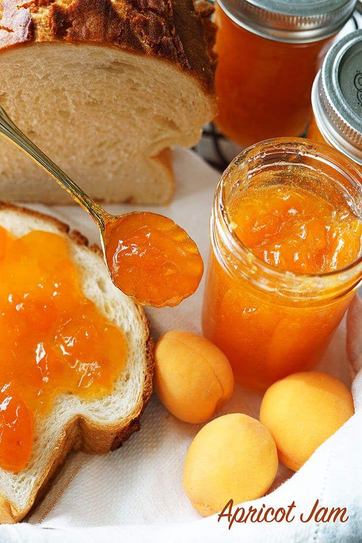 How To Make Apricot Jam Recipe Apricot Recipes Jelly Recipes Apricot Jam