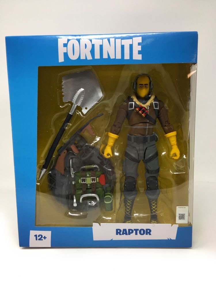 Fortnite Raptor 7 Inch Premium Action Figure By Mcfarlane Toys New Collectible Toys Action Figures Action Figures Fortnite