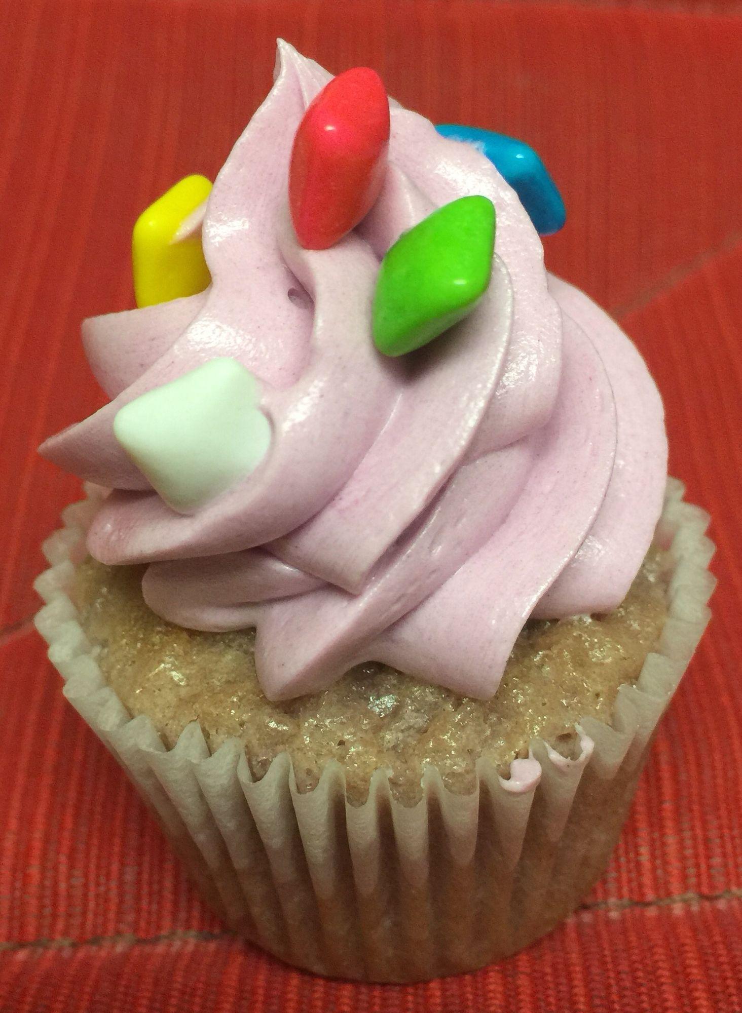 Grapebubblegum kuppycake desserts food cupcakes