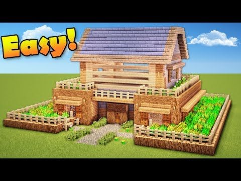 Minecraft How To Build A Survival House Wooden House Tutorial Youtube Cool Minecraft Houses Minecraft Houses Survival Minecraft House Tutorials