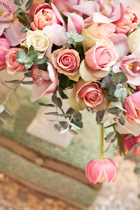 Pink, Mint & Holy Communion by Little Big Company & Eleventh Flower Inspired by Floret Cadet
