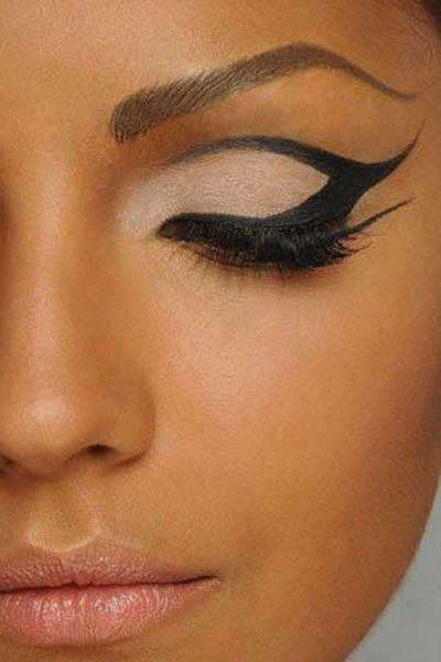 Image result for bold eyeliner
