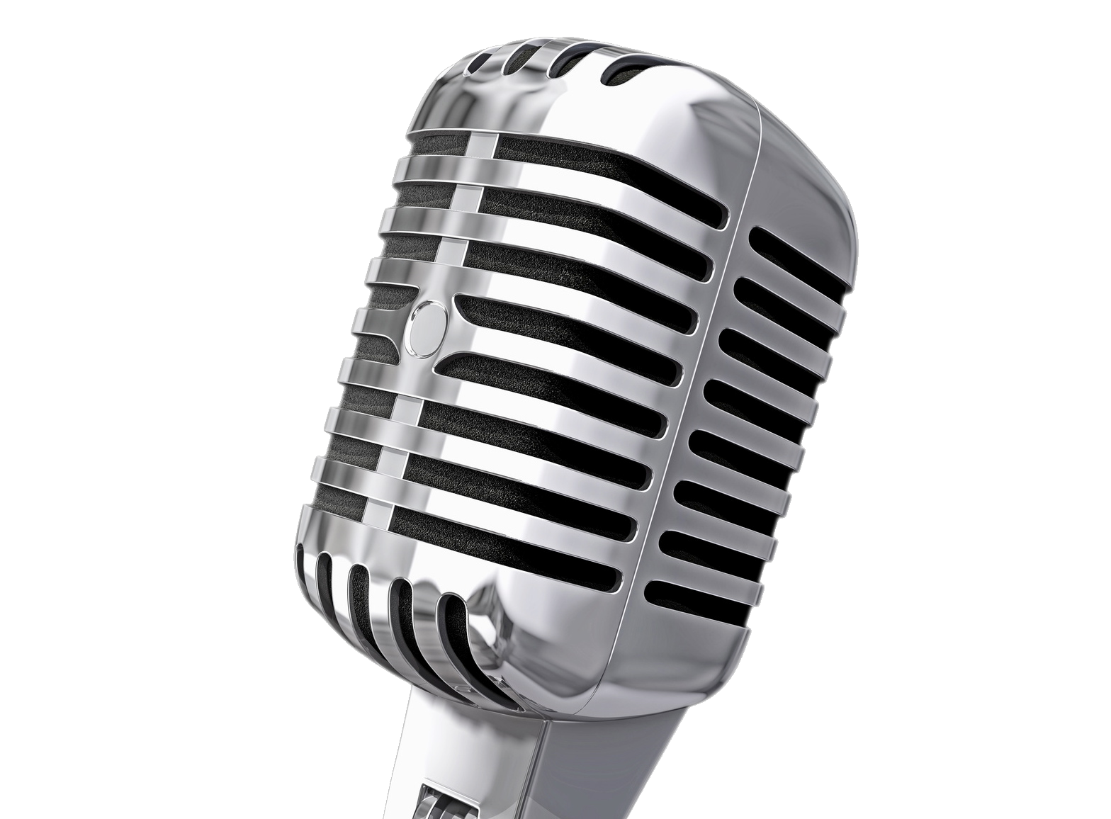 Microphone PNG Image Microphone, Vintage microphone