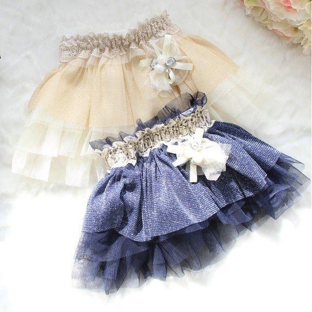 Children Toddler Fashion Lace Skirts Girls Flower New 2013 Tutu Skirts Kids Clothing Causal Baby Skirts Wear Princess 4pcs/LOT-inSkirts from...
