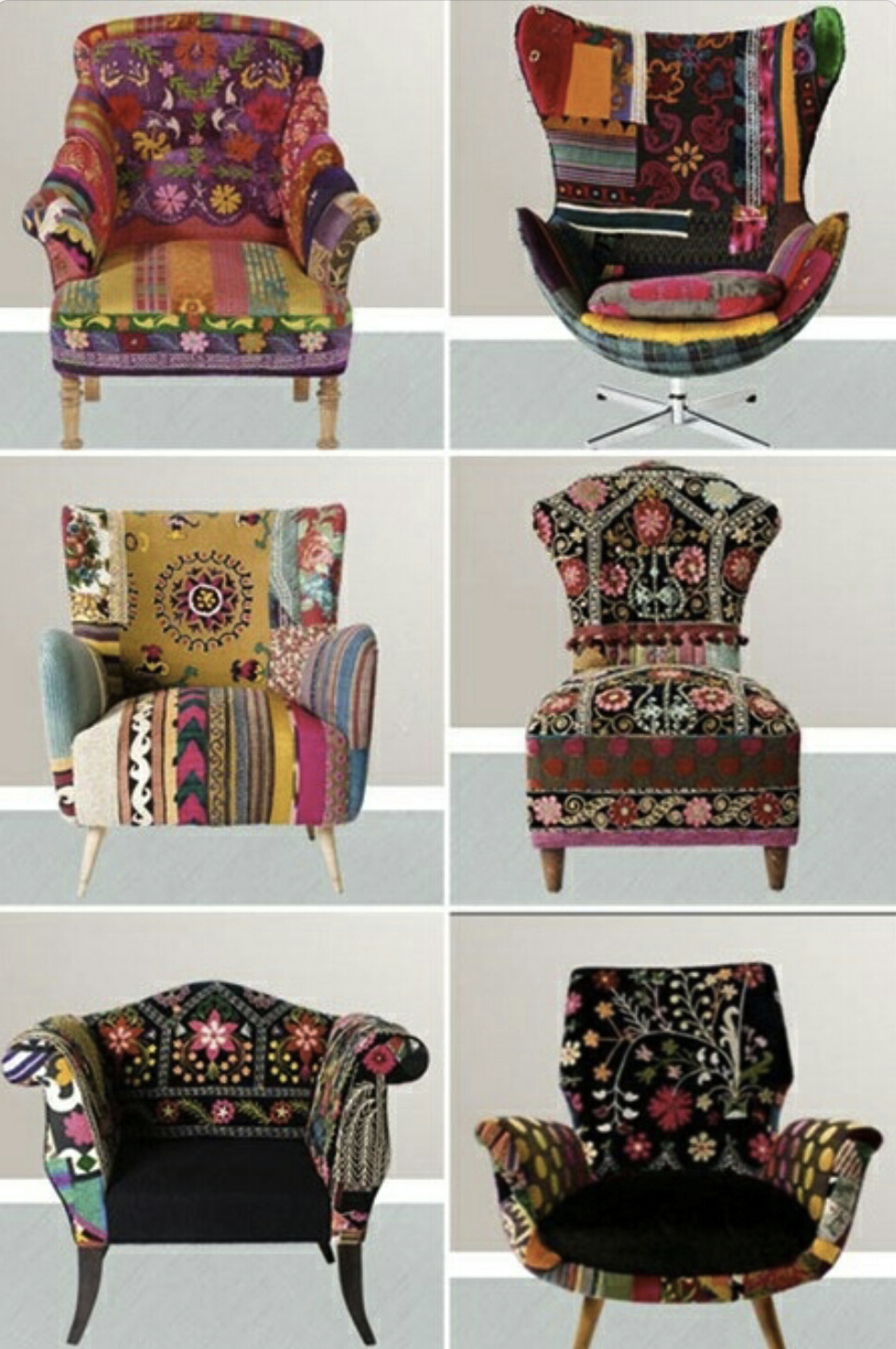 Bohemian Chair Love.