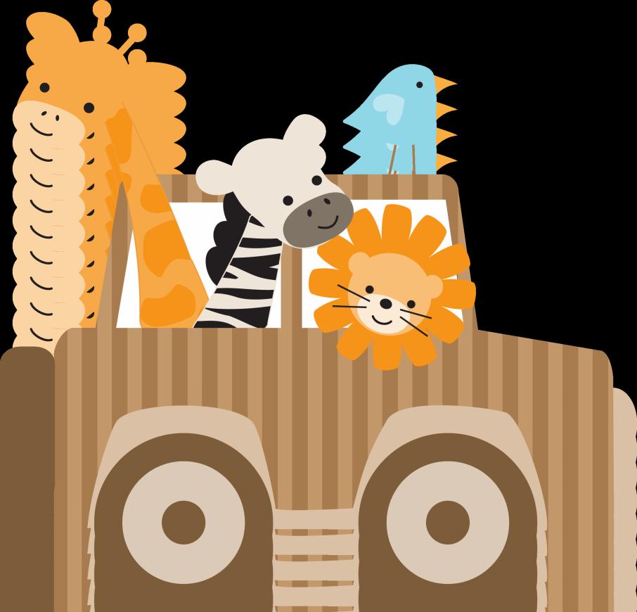 Safari Jeep Clipart