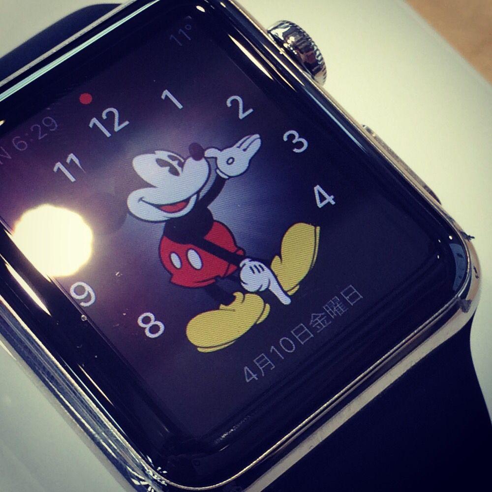 Micky In Apple Watch