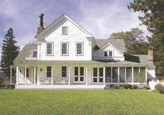 Floor Plan For 1850 Greek Revival Farm House Google Search