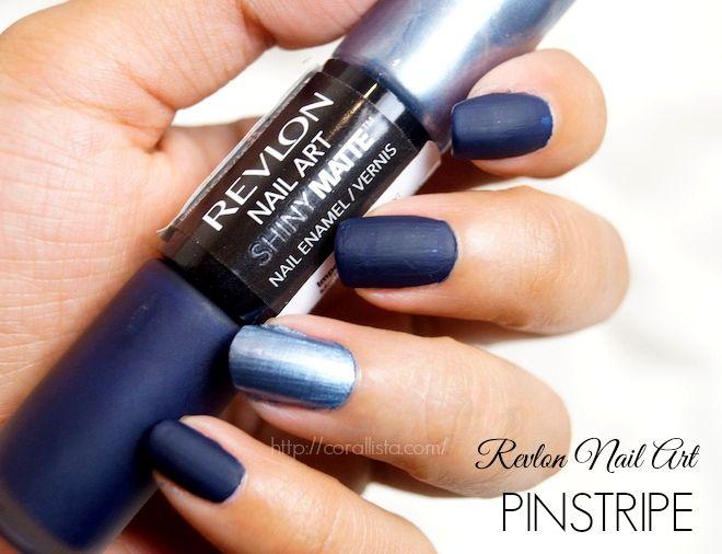 Revlon Shiny Matte Nail Art Pinstripe | Cosmetics | Pinterest ...