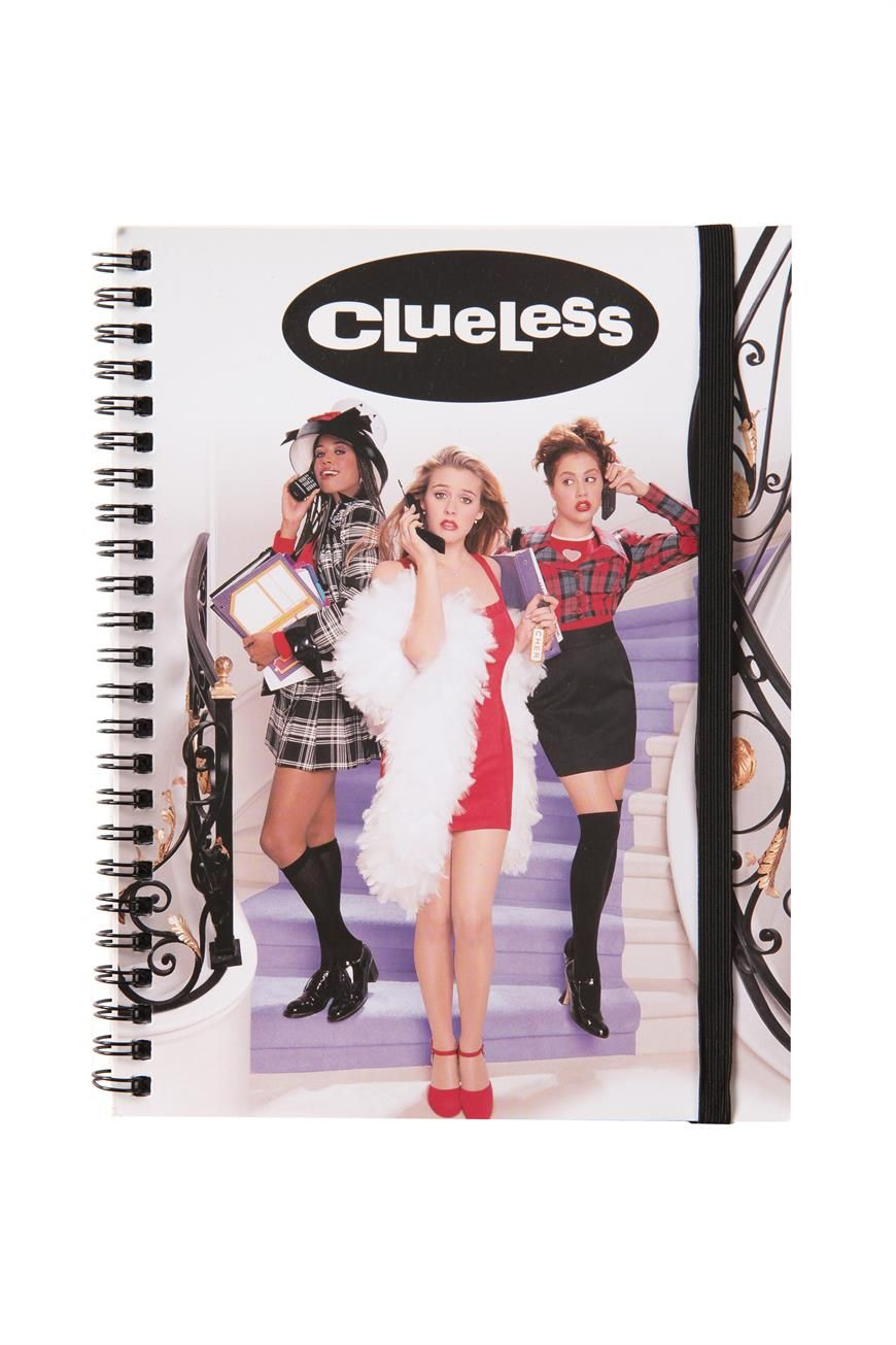 Clueless a5 Spinout Notebook | Cotton On