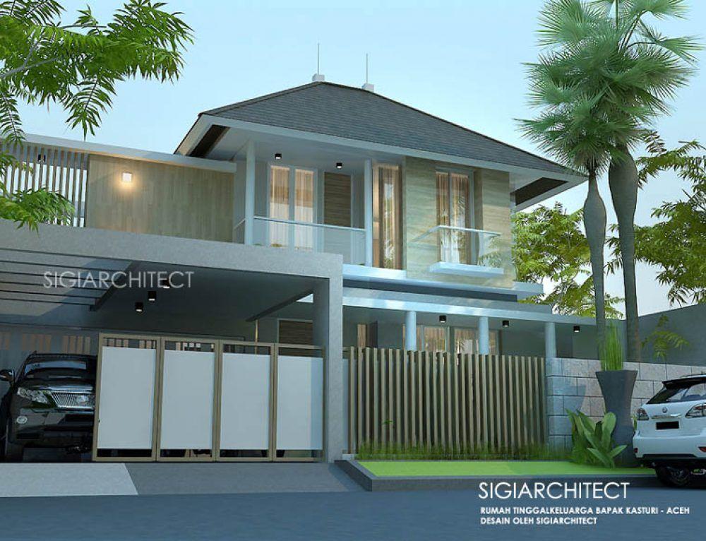 Rumah Mewah 2 Lantai 250 M2 Style Klasik Modern Rumah Minimalis Desain Fasad Rumah Modern