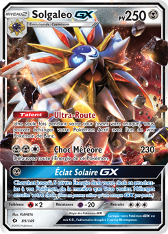 Solgaleo Gx Pokemon Cards Carte Pokemon Imprimer Carte