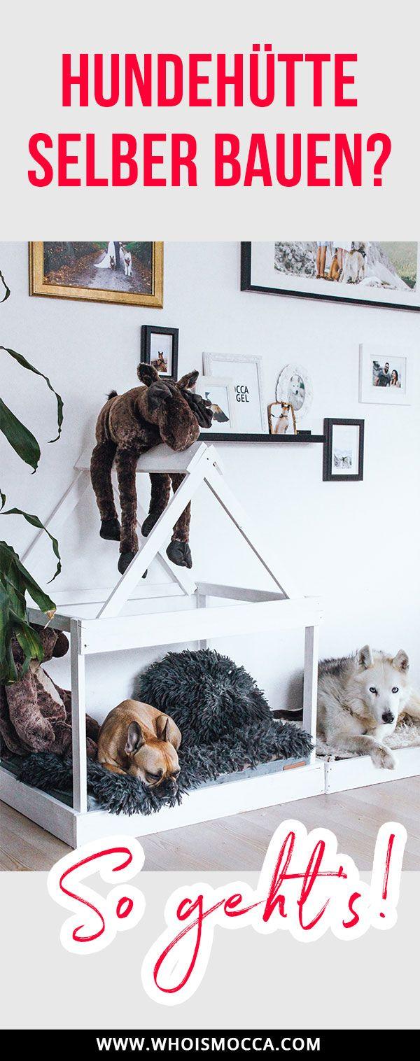 diy hundeh tte f r die wohnung selber bauen in 2018 einfache diy deko ideen pinterest. Black Bedroom Furniture Sets. Home Design Ideas