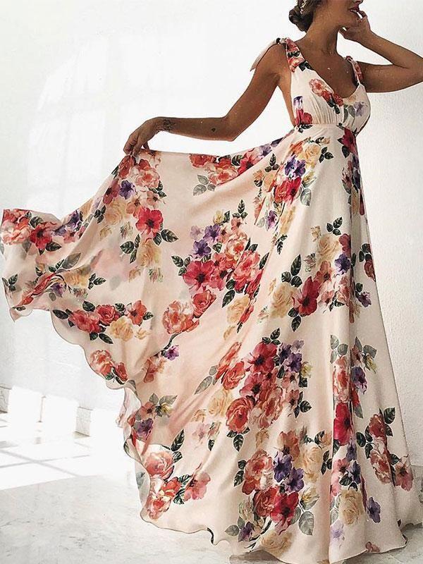 8ddd317532 Sexy New Backless Floral Print Maxi Dress   My Style - Stitch Fix ...