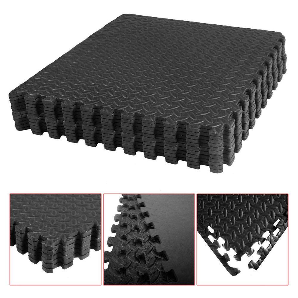 216sq ft Puzzle Gym Soft Eva Foam Floor Interlocking 54