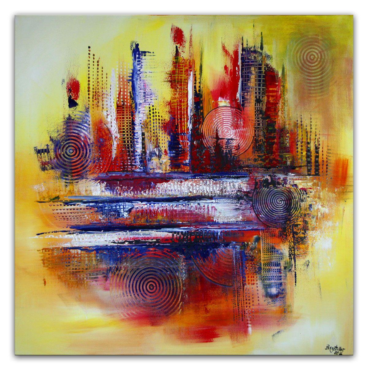 Handgemalte Bilder Kaufen miami abstrakt gemälde unikat handgemalt malerei acrylbilder kaufen