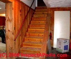 Basement Stairs Design On Stair Railing Landing Construction Stairs  Basement Stairs Design