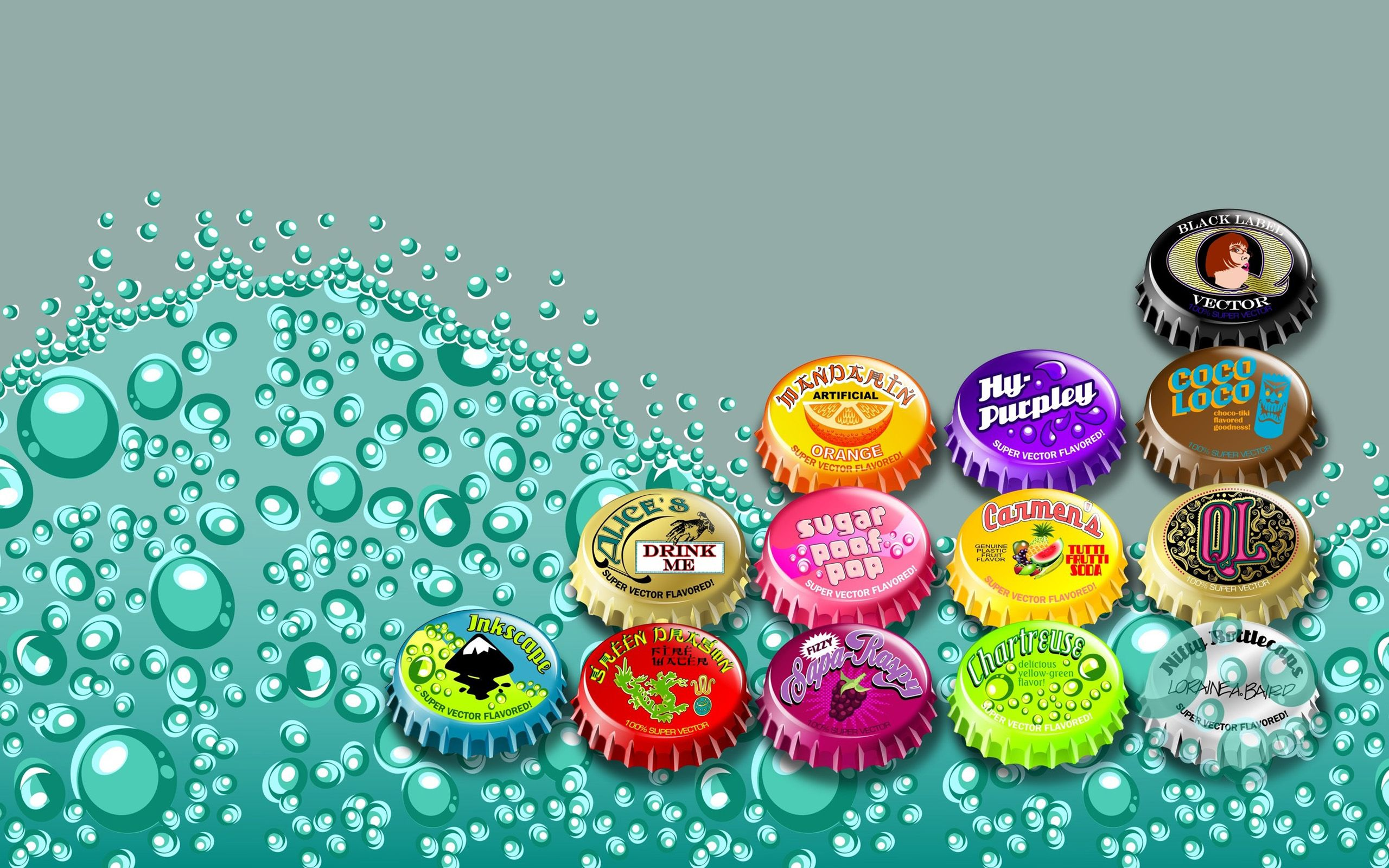 Pretty Wallpaper For Bedrooms Bottle Caps Image Very Beautiful And Much Interestingnow You Can