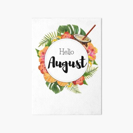 'Hello January - monthly cover for planners, bullet journals, ' Art Board Print by vasylissa #hellojanuary Hello January - monthly cover for planners, bullet journals, Art Board Print by vasylissa | Redbubble