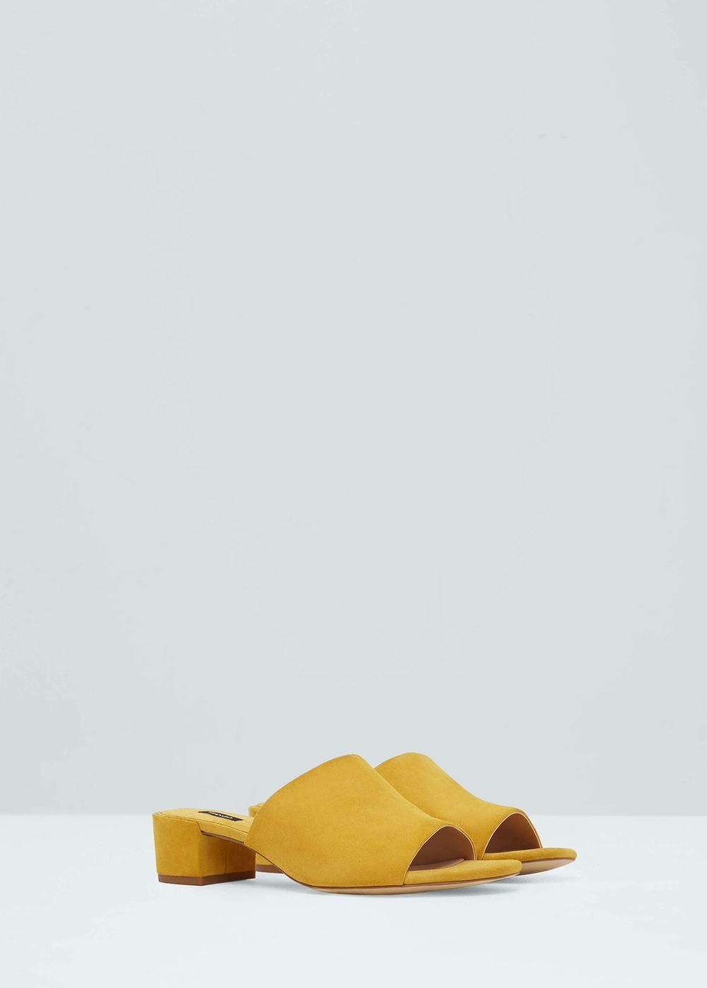 b12d66abae9 Sandalia piel destalonada - Zapatos de Mujer