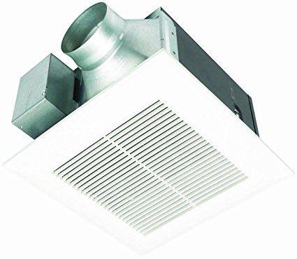 Panasonic Fv 11vq5 Whisperceiling 110 Cfm Ceiling Mounted Fan White Ceiling Exhaust Fan Bathroom Exhaust Exhaust Fan