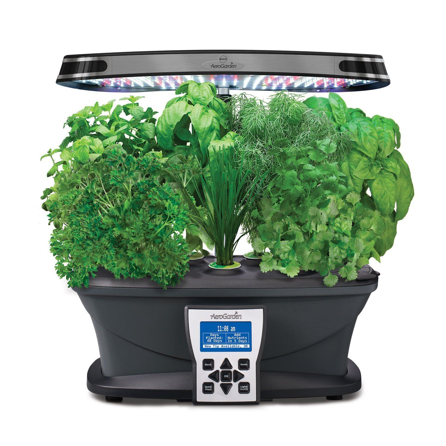 Led Kitchen Garden Year Around Counter Top Culinary Herb: I Love The Aerogardens. They Allow Me To Save Quite A Bit