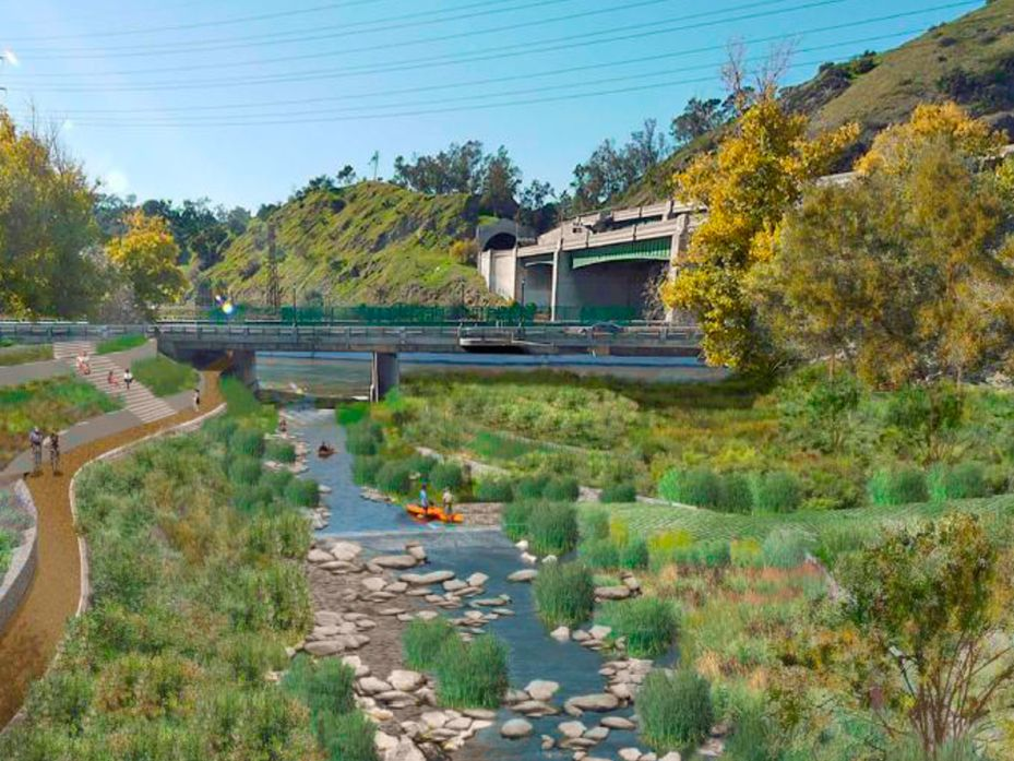 The Plan To Bring Nature Back To The Los Angeles River Wired Dream Garden River Urban Oasis
