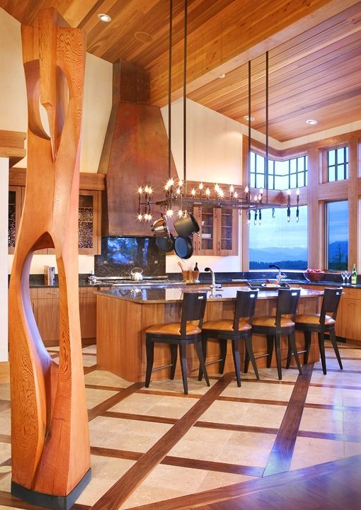 Custom Made Kitchen, Endless Sky, Montana