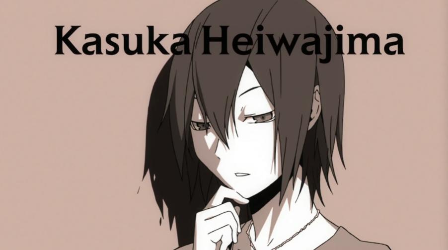 Heiwajima Kasuka,Shizuo Heiwajima's younger brother. He is