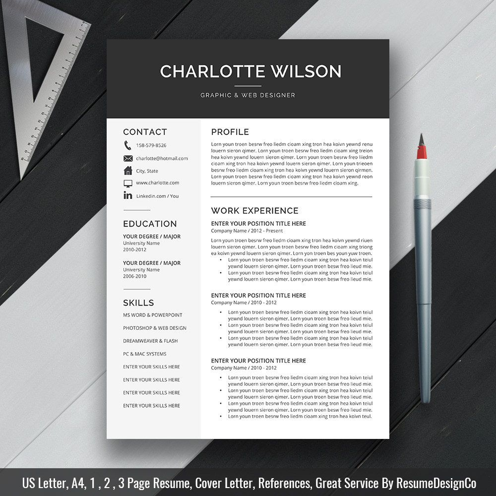 Pin By Sjoukje Posthuma On CvS    Professional Resume