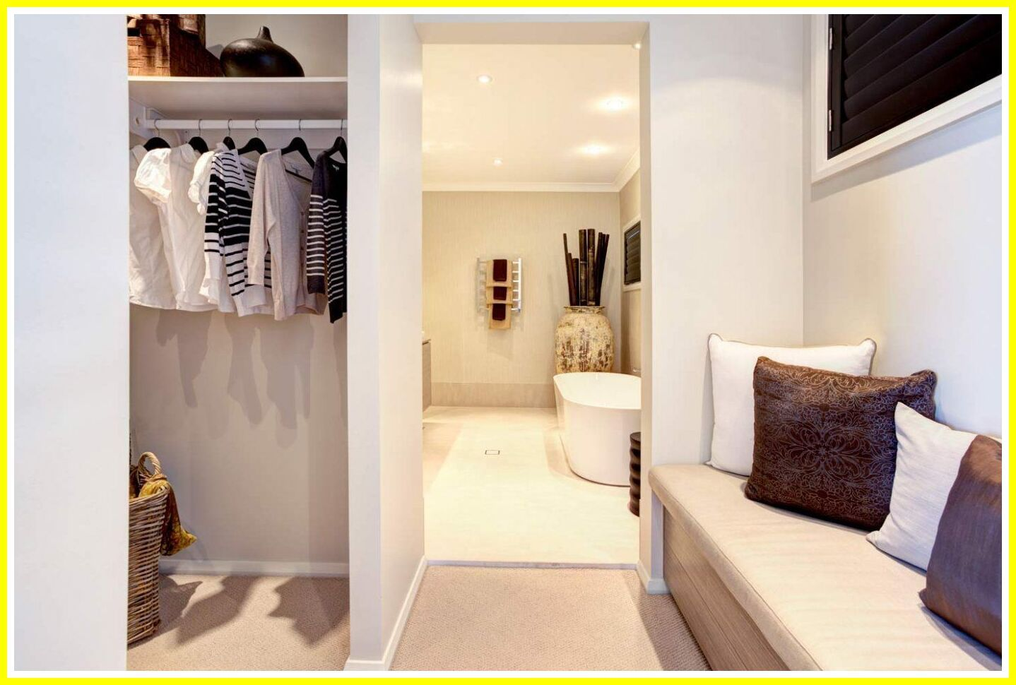 112 Reference Of Master Bedroom Ensuite Walk Closet Design In 2020 Master Bedroom Layout Bedroom Layouts Small Master Bedroom