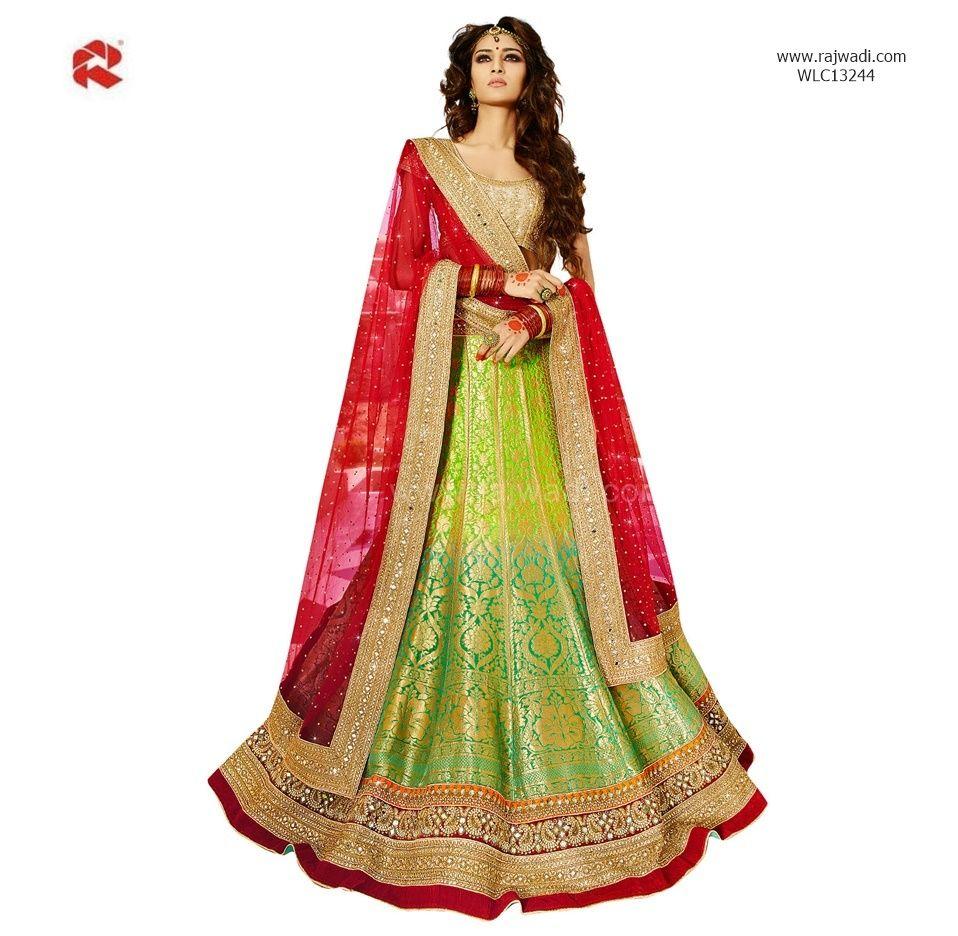Gracious Bridal Wear Designer Lehenga Choli # FeelRoyal ...