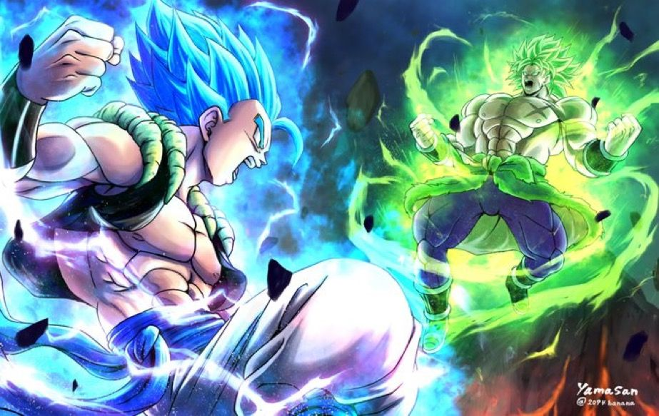 Dragon Ball Super Movie SSB Gogeta & SSJ Broly | Dragonball