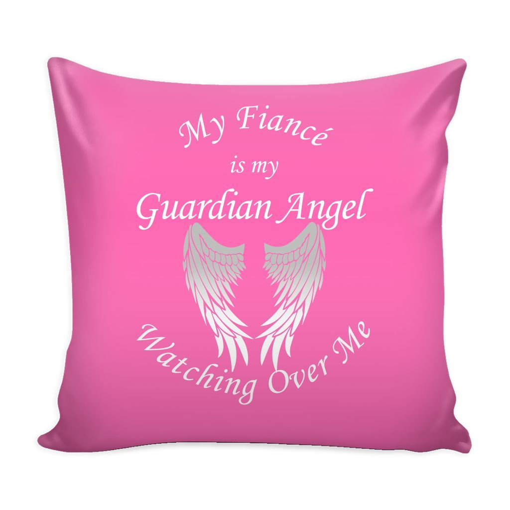 My Fiancé Guardian Angel Pillow Cover
