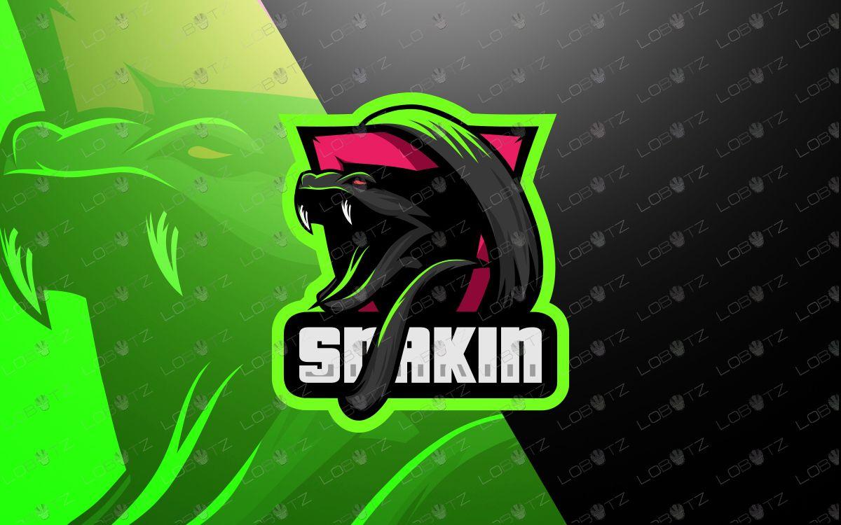 Snake mascot logo snake esports logo in 2020 Esports