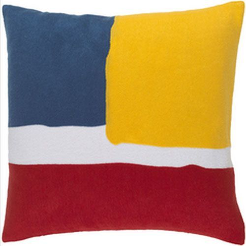 Harvey Multicolor 22-Inch Pillow with Poly Fill